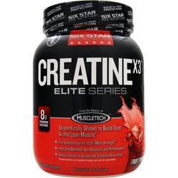 SIX STAR PRO NUTRITION Creatine X3 Elite Series Fruit Punch 2.5 lbs