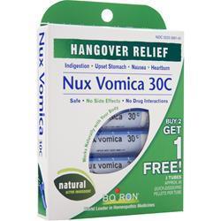 Boiron Hangover Relief - Nux Vomica 30C 240 unit