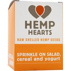 MANITOBA HARVEST Hemp Hearts - Raw Shelled Hemp Seeds 12 pckts
