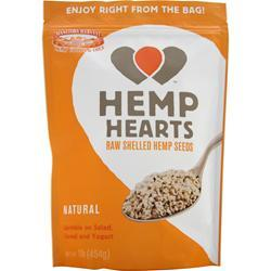 MANITOBA HARVEST Hemp Hearts - Raw Shelled Hemp Seeds 1 lbs