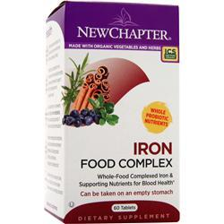 NEW CHAPTER Iron Food Complex 60 tabs
