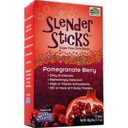 NOW Slender Sticks Pomegranate Berry 12 pckts
