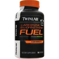 TWINLAB L-Arginine & L-Ornithine Fuel 90 caps