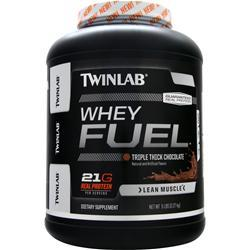 TWINLAB Whey Fuel Triple Thick Chocolate 5 lbs