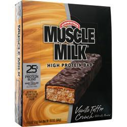 Cytosport Muscle Milk Bar Vanilla Toffee Crunch 8 bars