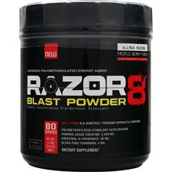ALLMAX NUTRITION Razor8 Blast Powder Triple Berry Punch 608 grams