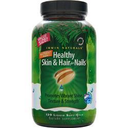 Irwin Naturals Healthy Skin and Hair plus Nails 120 sgels