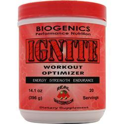 BIOGENICS Ignite - Workout Optimizer Watermelon 14.1 oz