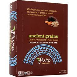 PROMAX Ancient Grains Bar - Pure Organics Chocolate Chunk 12 bars