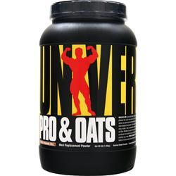Universal Nutrition Pro & Oats Frosted Cinnamon Roll 3 lbs