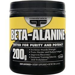 PRIMAFORCE Beta Alanine Unflavored 200 grams