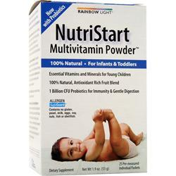 RAINBOW LIGHT NutriStart Multivitamin Powder 25 pckts