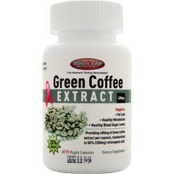 Athletic Edge Nutrition Green Coffee Extract (400mg) 75 vcaps