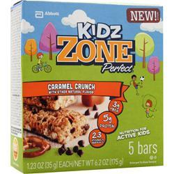 Zone Perfect Kidz Zone Bar Caramel Crunch 5 bars