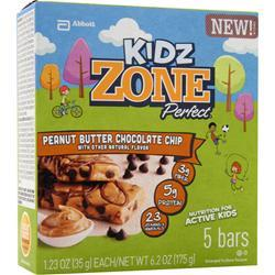 ZONE PERFECT Kidz Zone Bar Peanut Butter Chocolate 5 bars