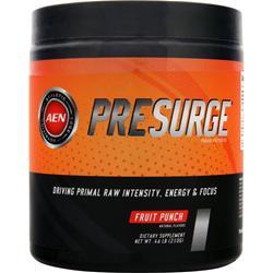 ATHLETIC EDGE NUTRITION PreSurge Fruit Punch 210 grams