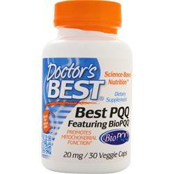 DOCTOR'S BEST Best PQQ 30 vcaps