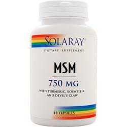 SOLARAY MSM (750mg) 90 caps