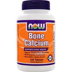 NOW Bone Calcium 120 tabs