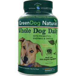 GREEN DOG NATURALS Whole Dog Daily Natural Chicken Flavor 60 chews