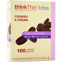 THINK THIN Bites Cookies & Cream 5 bars
