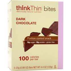THINK THIN Bites Dark Chocolate 5 bars
