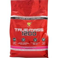 BSN True-Mass 1200 Strawberry Milkshake 10.25 lbs