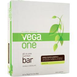 Vega Vega One - All in One Nutrition Bar Double Chocolate 12 bars