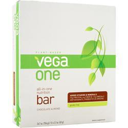 VEGA Vega One - All in One Nutrition Bar Chocolate Almond 12 bars