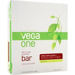 VEGA Vega One - All in One Nutrition Bar Chocolate Cherry 12 bars