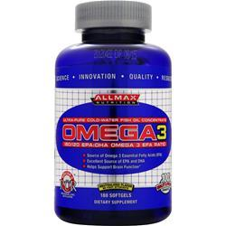 Allmax Nutrition Omega3 180 sgels
