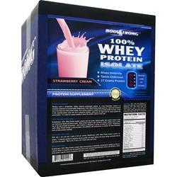 BodyStrong 100% Whey Protein Isolate Strawberry Cream 10 lbs