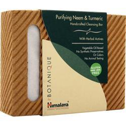 Himalaya Botanique - Handcrafted Cleansing Bar Purifying Neem & Turmeric 4.41 oz