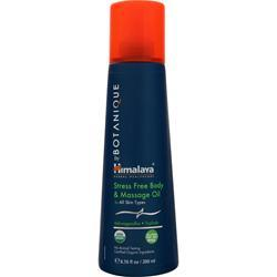 Himalaya Botanique - Stress Free Body & Massage Oil 6.76 fl.oz