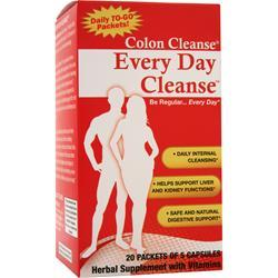 HEALTH PLUS Colon Cleanse - Every Day Cleanse 20 pckts