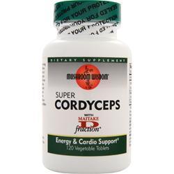 Mushroom Wisdom Super Cordyceps 120 tabs