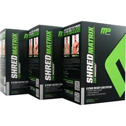 Muscle Pharm Shred Matrix (Buy 2 get 1 Free) 360 caps