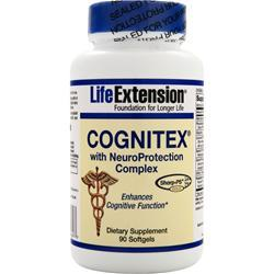 LIFE EXTENSION Cognitex with NeuroProtection Complex 90 sgels