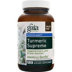 GAIA HERBS System Support - Turmeric Supreme 120 vcaps