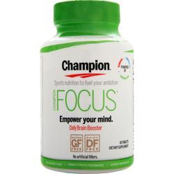 Champion Focus  EXPIRES 11/16 60 tabs