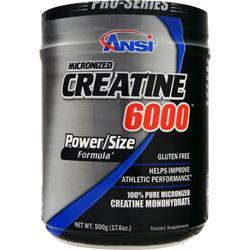 ANSI Creatine 6000 500 grams