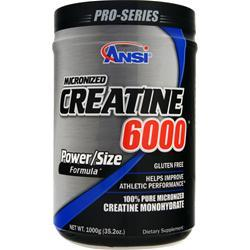 ANSI Creatine 6000 1000 grams