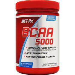 MET-RX BCAA 5000 Powder Blue Raspberry 300 grams