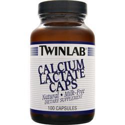 TwinLab Calcium Lactate 100 caps