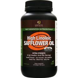 GENCEUTIC NATURALS Safflower Oil - High Linoleic 224 sgels