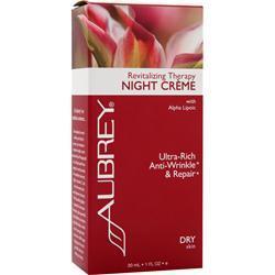 Aubrey Revitalizing Therapy Night Creme 1 fl.oz