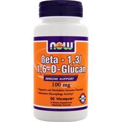 NOW Beta-1,3/1,6-D-Glucan 90 vcaps