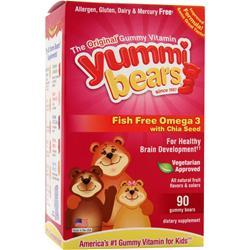 YUMMI BEARS Fish Free Omega 3 with Chia Seed 90 bears