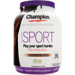 CHAMPION Sport - Daily Protein Blend Chocolate 1.6 lbs