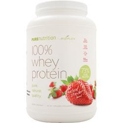 BIOPLEX NUTRITION Pure Nutrition - 100% Whey Protein (All Natural) Strawberry 2 lbs